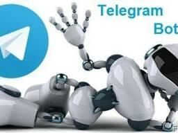 Разработка и создание Телеграмм Ботов Telegram bot Чат-Ботов
