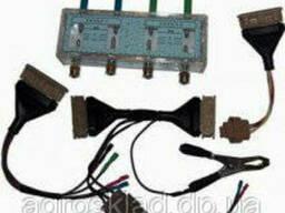 Разрядник с комплектом переходников для проверки модулей. ..