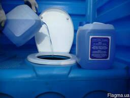 Реагент для обслуговування усіх типів туалетів