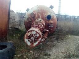 Реактор эмалированный 10 м. куб. ,