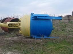 Реактор эмалированный / нержавеющий/ титановый 5 -20 м. куб.