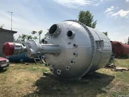 Реактор с мешалкой от 10 литров до 100м3.