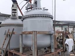 Реактор нержавеющей стали на 2 м3, сборник, емкость.