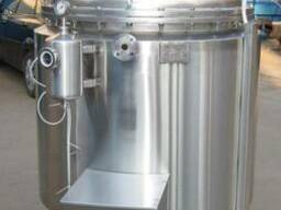 Реактор объемом 800 л с встроенным роторным гомогенизатором,