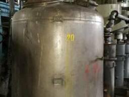 Реакторы и емкости фирмы Екато 2000л 6000л