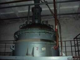 Реакторы СЕонв 0.63м3- 4м3 зеленая, синяя эмаль, нержавейка