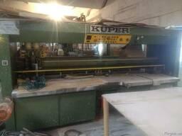 Ребросклеивающий станок для шпона KUPER