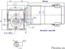 Редуктор шестерни глиста мотора DC