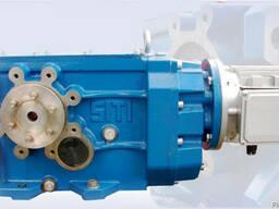 Коническо-цилиндрический мотор-редуктор серии MBH_