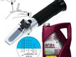 Рефрактометр для антифриза, теплоносителя, электролита, стек