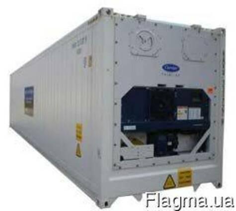Рефрижераторный контейнер 40 футов НС б/у рефконтейнер