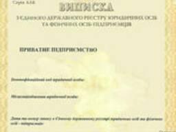 Регистрация Частного предприятия (ЧП) в Киеве, Броварах