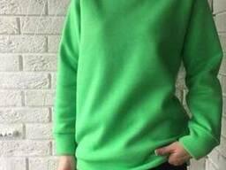 """Реглан ярко-зеленый (трава) облегченный, модель """"унисекс"""""""