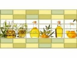 Регул ПВХ мозайка стеновая панель Ароматы масла 218ам