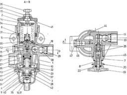 Регулятор давления 475-304-151-0 погрузчик L-34 Stalowa Wola
