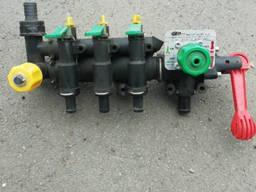 Регулятор давления ручной 3-х секционный Geoline Италия 150л