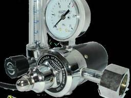 Регулятор расхода углекислотный У-30П (220В) с подогревом