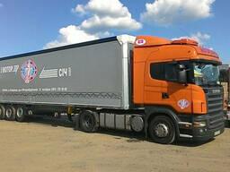 Реклама на грузовые автомобили.
