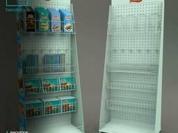 Рекламные  напольные стойки для шоколада
