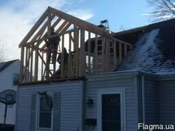 Реконструкция домов и других построек.