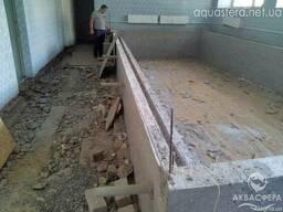 Реконструкция и ремонт бассейна