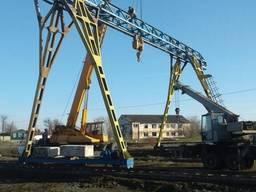 Реконструкция, монтаж кранов козловых, мостовых, башенных