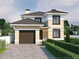 Реконструкция проект дома Одесса Архимас