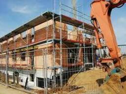 Монтаж промышленных зданий