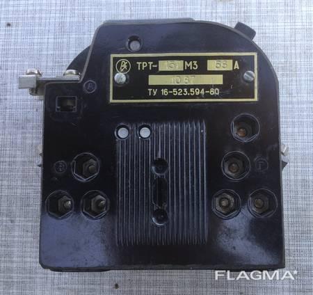 Реле электротепловое токовое ТРТ-137 М3.