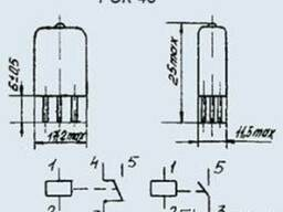 Реле РЭК-43 РФ4. 500. 478-10. 02