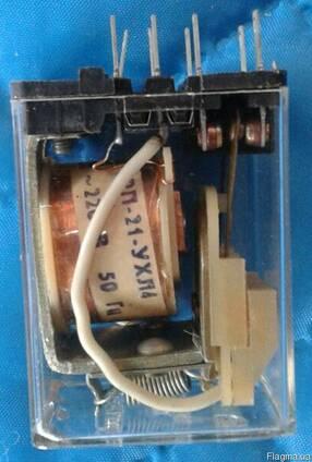 Реле РП-21-002; 21000; 100; 120 220В 50Гц промежуточное
