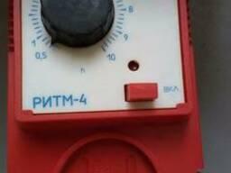 Реле времени РИТМ-4 с выдержкой на отключ. до 10 час.