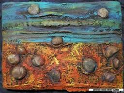 """Рельефная (барельефная) картина """"Африка"""""""