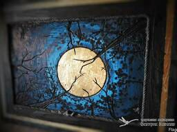 "Рельефная (барельефная) картина ""Луна"""