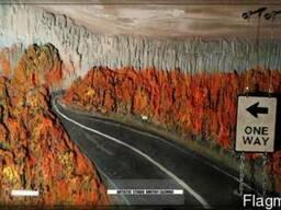 """Рельефная (барельефная) картина """"Осень"""""""