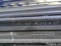 Рельсы железнодорожные Р65, новые, хранение, с износом.