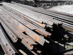 Рельсы стальные, демонтаж