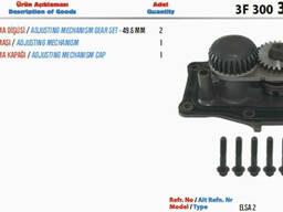 Рем. комплект суппорта Meritor, Wabco, Knorr-Bremse, 3F