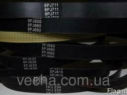 Ремень ручейковый 6PJ630 на бетономешалку