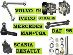 Ремкомплект шкворня Mercedes Actros Atego Iveco Scania
