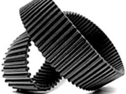 Ремни зубчатые двусторонние полиуретановые D-t5, D-t10