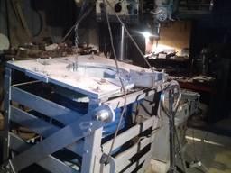 Ремонт б\у индуктор, индукционная плавильная печь тпч