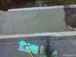 Ремонт балконных козырьков