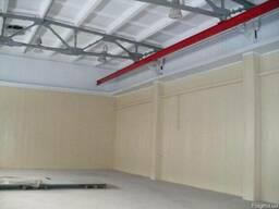 Ремонт цехов складов ангаров паркинга Безвоздушная покраска стен и потолков