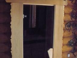 Деревянная баня, в Днепре.
