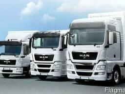 Новые запчасти на грузовики MAN всех моделей