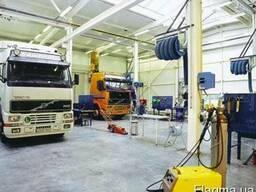 Ремонт грузовиков Mercedes MAN DAF Volvo Iveco Tata, Киев