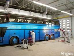 Ремонт и покраска грузовиков/автобусов