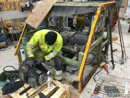 Ремонт и реконструкция экструдера пустотных плит перекрыт