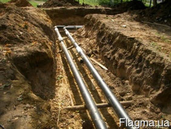 Ремонт и стоительство канализационных сетей, Киев и область